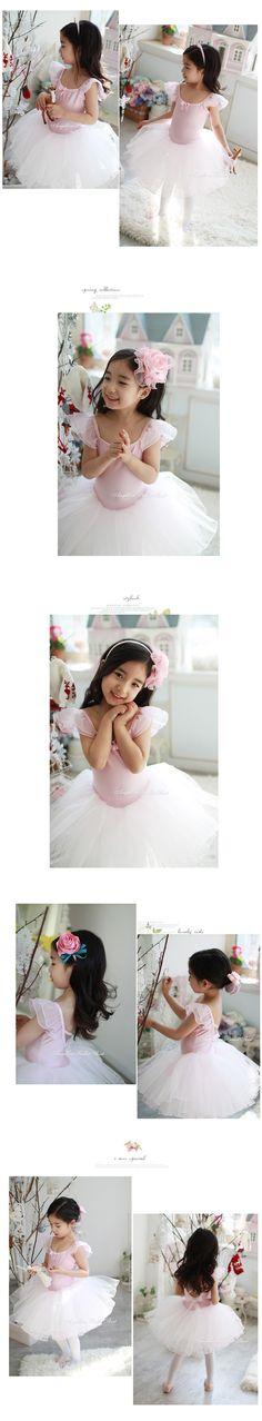 F1510q koreaanse kinderen dans kostuum ballet jurk bloem meisje jurk prinses…
