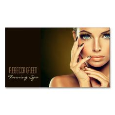 beauty salon massage SPA facial skin care Business Card Templates ...
