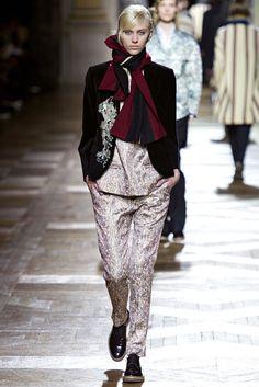 Dries Van Noten Fall 2013 Ready-to-Wear Fashion Show - Juliana Schurig (Elite)