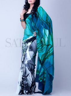 Satya Paul Saree Collection 2013 For Women