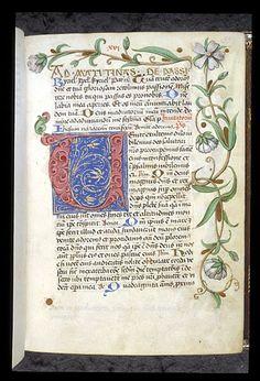 Egerton 1146  Illuminated initial