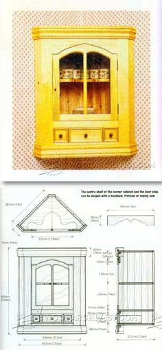 Corner Cabinet Plans - Furniture Plans and Projects | WoodArchivist.com