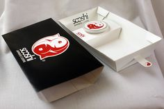 Sushi Take-Away Packaging and Identity on Behance