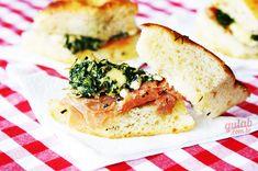 Receita: Sanduíche de espinafre com parma e gorgonzola » Gulab