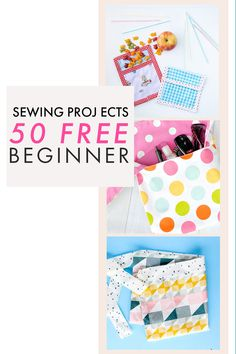 This list of 50+ of the best beginner sewing projects that you can start sewing right now. These beginner sewing projects are among some of the best on the internet and can be made super fast. You will find everything from quilts and apparel to bags and fun accessories. With so much inspiration you will be sure to want to sew one of everything.