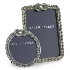 Picture of Lautrec Silver Rope Frame  - Ralph Lauren
