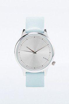 Komono Estelle Analog Watch in Teal #jewelry #covetme #komono #watch