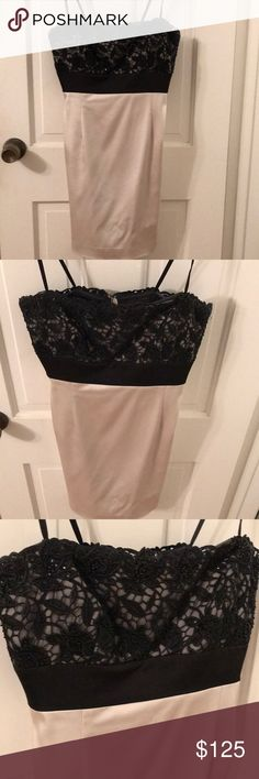 BCBG dress Worn once. Like new ! BCBGMaxAzria Dresses Mini