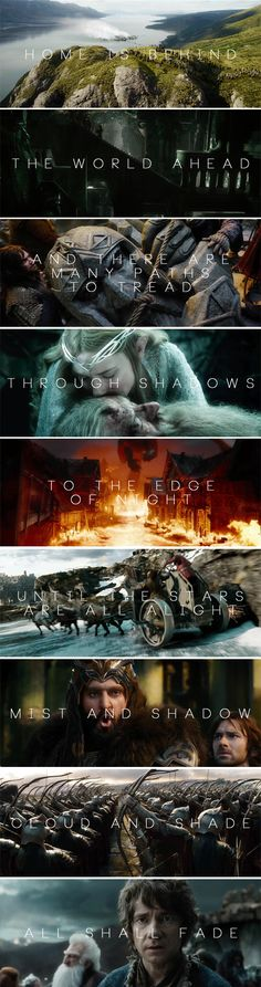Teaser Trailer for 3rd hobbit is out, using awe-inspiring song from LOTR movie as back ground! <3