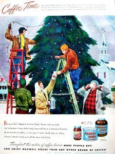 Maxwell House Coffee — 1948 (Christmas)