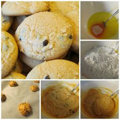 Box Cake Orange Chocolate Chip Cookies 5 Pantry Ingredients Easy, But Fancy Dessert Chocolate Morsels, Chocolate Chip Cookies, Different Recipes, Other Recipes, Boil Corn On Cob, 15 Minute Meals, Fancy Desserts, Lemon Cookies, Chocolate Orange