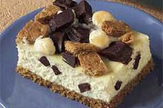 S'Mores Cheesecake Squares recipe