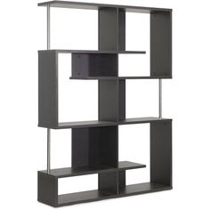 Lanahan Espresso Three Level Display Shelf Free Standing Shelves & Bookcases Home Office Price Cut Limited time offer, shop now for the best selection! Sale ends Modern Bookshelf, Bookcases, Black Bookshelf, Contemporary Bookcase, Bookshelf Ideas, Modern Shelving, Modern Furniture, Home Furniture, Furniture