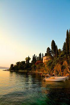 Sunrise in Corfu, Corfu, Greece