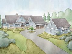 ePlans Ranch House Plan – Craftsman Ranch With Lower Level Bedrooms – 4938 Square Feet and 4 Bedrooms from ePlans – House Plan Code HWEPL78058