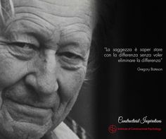 Gregory Bateson - Antropologo, sociologo e psicologo britannico