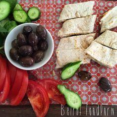 Rise and Shine! Zaatar & Cheese Saj With a Side of Veggies at Kahwet Leila. #beirut #lebanon #breakfast #goodmorning #beirut #beirutfoodporn #livelovebeirut #lebanon #foodporn #lebanesefood #foodie #food #Instagram #eeeeeats #instafood #foodgasm #love #food52 #EatTravelRock #fdprn #yummylebanon #everythingerica #foodpornshare #foodilysm #beirutfood #whatsuplebanon