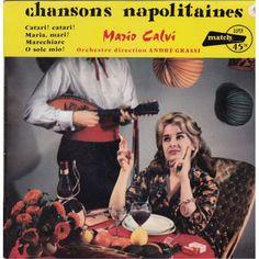 Mario Calvi - Chansons Napolitaines (Vinyl) at Discogs