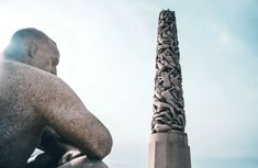 That's how I would describe Frogner Park in Oslo, Norway created by Norweigan artist Gustav Vigeland. Psychological Thriller Movies, Perfect Physique, Norway Oslo, Human Sculpture, Wheel Of Life, Greek Gods And Goddesses, Central Station, Main Entrance, Bus Stop