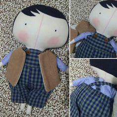 Tilda toy para meninos!! 👦