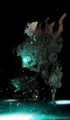 Magitek armor