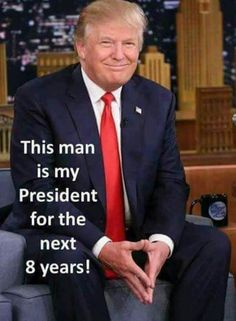 I pray he is. I wish he is given the same chance every other president  was given.