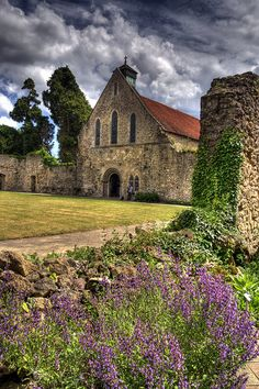Beaulieu Abbey, New Forest, Hampshire, England was founded in by King John. Hampshire England, England Uk, New Forest England, Visit England, The Places Youll Go, Places To See, Temple, England And Scotland, Isle Of Wight