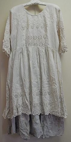Magnolia Pearl French cotton eyelet Lucienne Dress