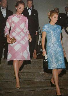 graceandfamily: Monte-Carlo, June 1966- Princess Grace and Prince Rainier of Monaco with Prince Albert and Princess Paola (now King Albert and Queen Paola of Belgium).