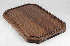 Walnut Butcher Block Cutting Board with Juice by BlueMtnWoodworks, $100.00