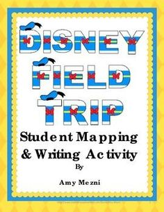 This file has a narrative writing prompt as well as a webquest & map activity for all four Florida Disney World parks: Magic Kingdom, EPCOT, Animal Kingdom, and Hollywood Studios. ($)