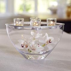 PERFECT for a wedding or baby shower centerpiece!  Clearly Creative™ Elevated Votive Centerpiece http://www.partylite.biz/legacy/sites/nikkihendrix/productcatalog?page=productdetail&sku=P91391&categoryId=58466&showCrumbs=true
