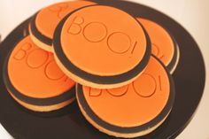 Halloween cookies by Couture Cupcakes and Cookies, styled by Mon Tresor