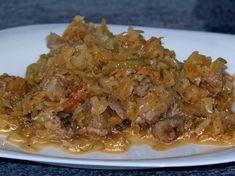 Varza calita cu carne de curcan