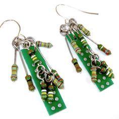 circuit board jewels - Google Search