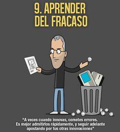 Las mejores frases ilustradas del genio Steve Jobs para emprendedores