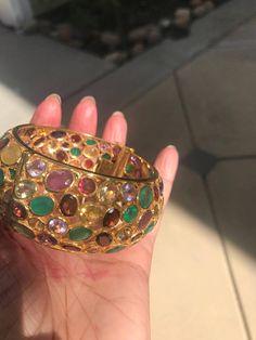 Sagittarius Birthstone Statement Ring Tourmaline Ring Natural Ruby Ring ready to ship size US 7.25 Silver Ring 24k Yellow Gold Ring