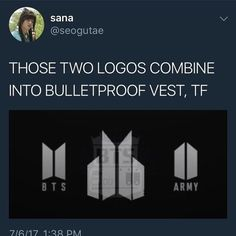 Bighit being nostalgic af and not letting go of their old logo either xD