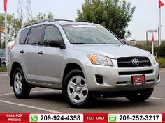 2012 Toyota RAV4 Sport 4D Sport Utility 40k miles Silver Call for Price 40110 miles 209-924-4358 Transmission: Automatic  #Toyota #RAV4 #used #cars #TracyToyota #Tracy #CA #tapcars