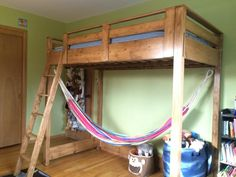 Build it, loft bed with hammock