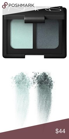 NARS Eyeshadow Duo Cleo Mint & Dark Green Brand new in box NARS Makeup Eyeshadow