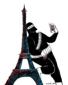 Cartoonists Are Continuing To Share Heartbreaking Responses To The Paris Terror Attacks