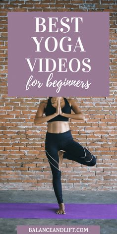Are you looking to get started with some yoga videos for beginners? Check out this post with some of the best yoga videos to get started with yoga. Training for beginners Training plan Training video Training weightlifting Training women Training workout Weight Loss Meals, Quick Weight Loss Tips, Yoga For Weight Loss, Losing Weight, Yoga Girls, Yoga Fitness, Fitness Tips, Enjoy Fitness, Fitness Band