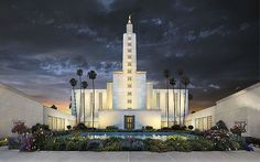 the LA Temple --been here