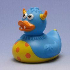 Duckshop - der Shop für Badeenten und Quietscheentchen - Monster Badeente blau