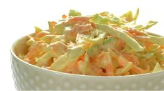 Craigs coleslaw oppskrift -- www. Dinner Side Dishes, Dinner Sides, I Love Food, Good Food, Yummy Food, Vegetarian Recipes, Cooking Recipes, Norwegian Food, Cole Slaw