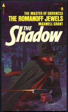 The Shadow 9 - Romanoff Jewels - Steranko cover