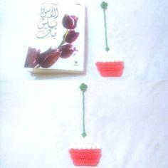 Good morning  #crochet #crocheted #crocheting #crocheter #crochetersofinstagram #bookmark #crochetbookmark #crochetcupcakebookmark #iloveyarn #ilovecrochet #yarnaddict #crochetaddict #happycrocheters #crochetinsta #crochetinspiration #crocheteveryday #crocheteverything by lamis_masamesoooo