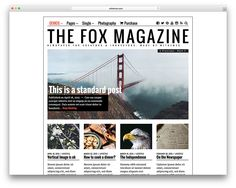 34 Best WordPress Newspaper Themes for News Sites 2020 - Colorlib Yearbook Covers, Yearbook Layouts, Yearbook Design, Yearbook Theme, Yearbook Spreads, Graphic Design Brochure, Corporate Brochure Design, Brochure Layout, Brochure Template