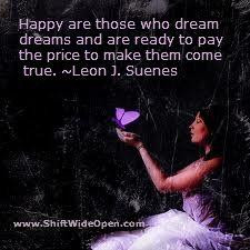 Leon J Suenes dreams